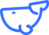 Whale - Blue - png